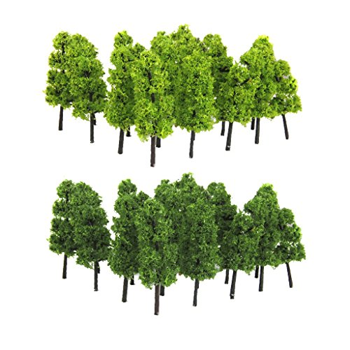 20 Pieces Pagoda Trees 1:200 Scale Model Trees Train, used for sale  Delivered anywhere in USA