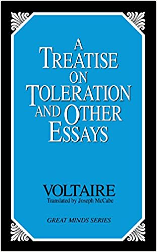amazon com a treatise on toleration and other essays great minds  amazon com a treatise on toleration and other essays great minds 9780879758813 voltaire joseph mccabe books