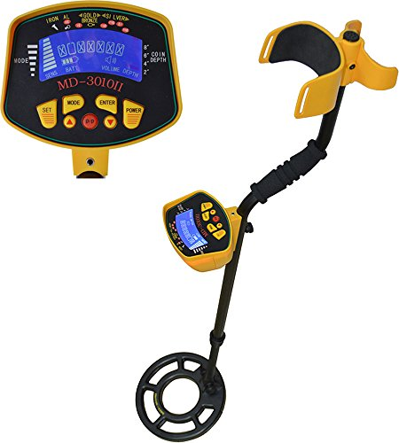 TMS® Metal Detector Gold Digger Light Hunter Deep Sensitive