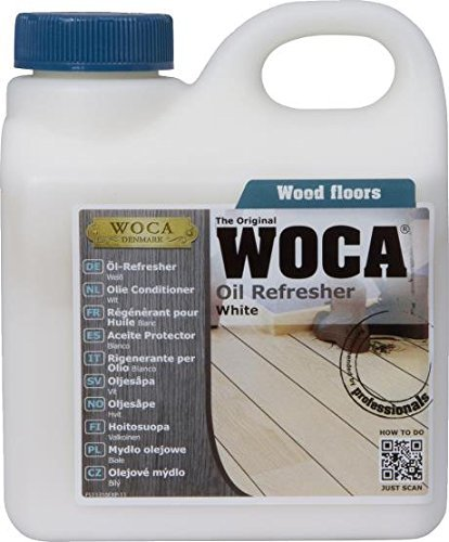 Woca Denmark The Original WOCA Oil Refresher White 1 Liter by Woca Denmark