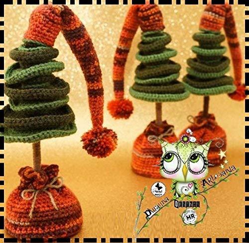 Navidad Amigurumi: 30 Patrones para tejer amigurumis navideños ... | 487x500