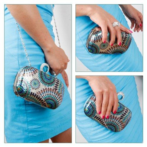 femmes collection cloutés main sac différents Wild BMC à et bague à modèles mini soirée strass paillettes Esprit Libre Child x8IqRqw7B