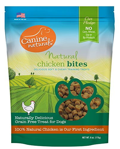 Canine Naturals – Natural Chicken Bites – Grain-Free Dog Training Treats – 6 oz. Package Review