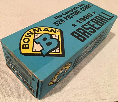 1990 Bowman Baseball Complete Set 528 Cards with Factory Box (OPENED) (Bowman 1990 Baseball)