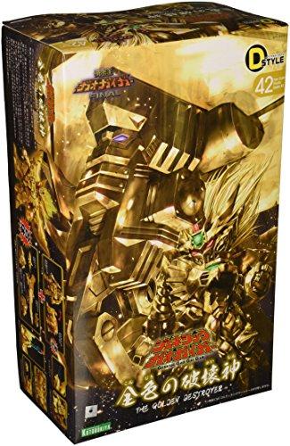 Kotobukiya Genesic Gao Gai Gar The Golden Destroyer D-Style Model Kit, 200-Piece