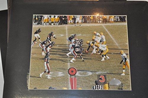1980's Era Chicago Bears vs. Green Bay Packers Framed Picture By Bob Horsch ()