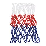 Alloet New Durable Standard 5mm Nylon Thread Sports Red Basketball Rim Mesh Net