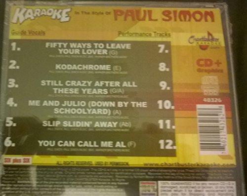 Karaoke: Paul Simon - Simon Karaoke Paul