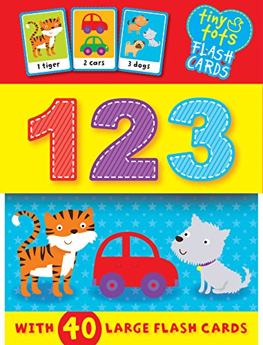 Tiny Tots Flash Cards: 123 (S & A Preschool)