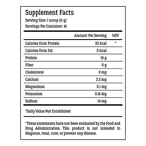 Collagen Peptides - Hair, Skin, Nail, and Joint Support - Type I & III Collagen - All-Natural Hydrolized Protein - 41 Servings by LiveWell Labs Nutrition    (Image #5)