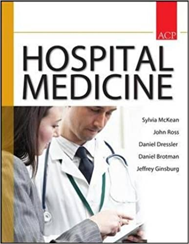 Principles and Practice of Hospital Medicine: 9780071603898