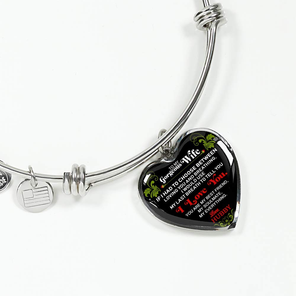 Fa Gifts to My Wife Bracelet - Luxury Bracelet Silver On Birthday, Anniversary - Includes Gift Box!