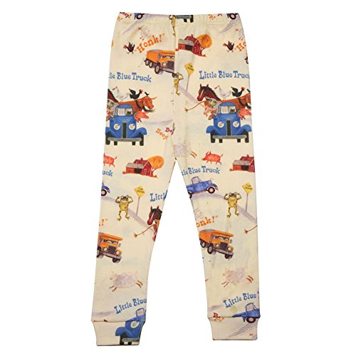 Children's Little Blue Truck Print Pajama Top and Bottom Set - 3T by BASICALLY KIDS/BOOKS TO BED (Image #1)