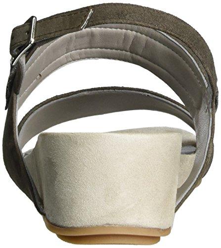 Besar Women's Sandals Unisa Pink Heels Wedge Rhino ks Grey qaHax5U