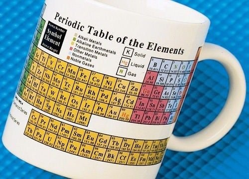 superb amazoncom periodic table of the elements coffee u0026 tea mug periodic - Periodic Table Mug Australia