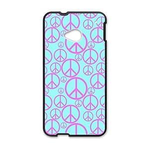 Creative Design Unique Fashion Black HTC M7 case