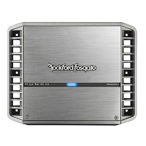 2 Ch 300w Amp (Rockford PM300X2 300 Watt 2-Channel Amplifier)