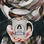 Ceramic Christmas Coffee Mug Mom Ariegeois Dog Funny Tea Cup 11