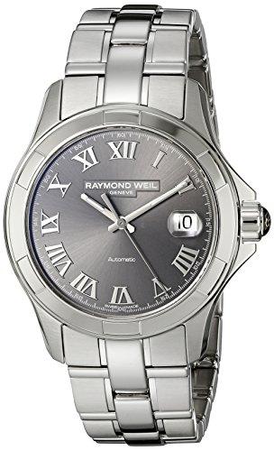 Raymond Weil Men's 2970-ST-00608 Parsifal Analog Display Swiss Automatic Grey Watch