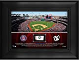 "Washington Nationals Framed 5"" x 7"" Stadium Collage with a Piece of Game-Used Baseball - MLB Team Plaques and Collages"