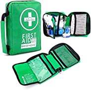 First Aid Kit 220-Piece Medical Kits Lightweight for Camping,Outdoors,Hiking with Emergency Survival Gear Life