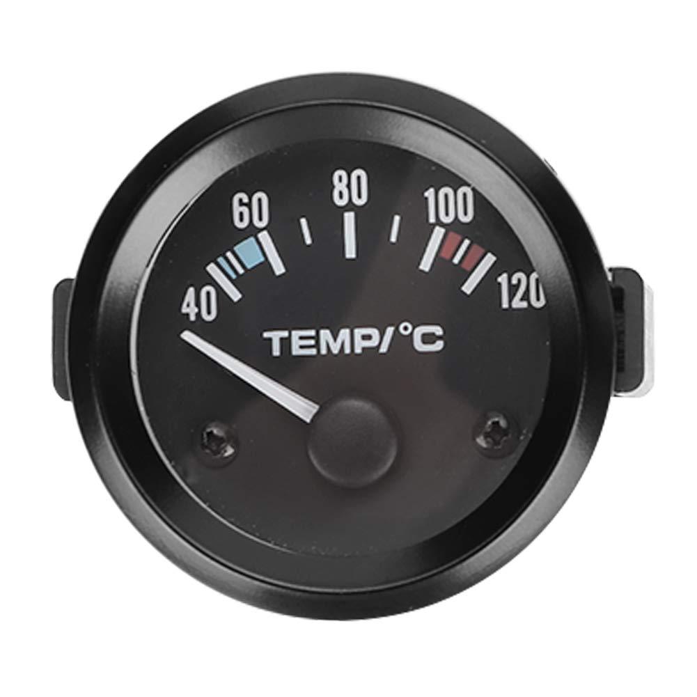 Medidor de temperatura de agua LED, sensor de temperatura de agua para coche digital LED universal de 2 pulgadas 52 mm
