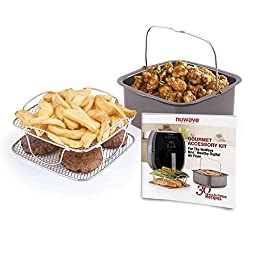 NuWave 36223 Brio Gourmet Accessory Kit, Clear, One Size
