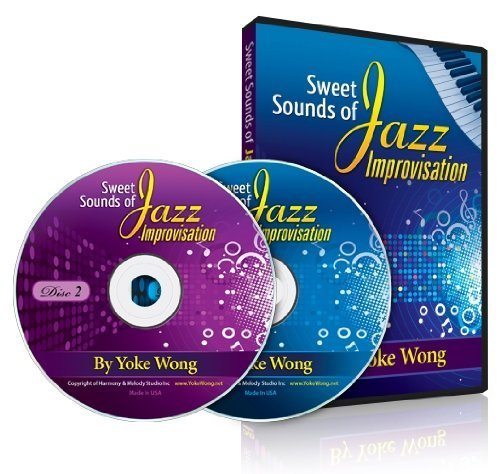 Piano Lessons - Sweet Sounds of Jazz Improvisation (2 DVDs) (Home Study Course)
