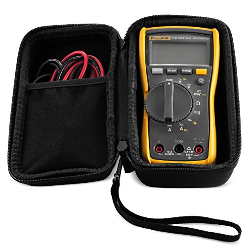 Hard CASE fits Fluke 115 & 117 True-RMS Digital Multimeter Compact. By Caseling by caseling