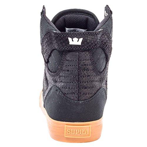 Supra Mens Skytop Zwart / Gum