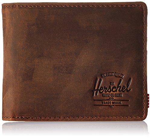 Herschel-Supply-Co-Mens-Hank-Leather-RFID-Blocking-Wallet