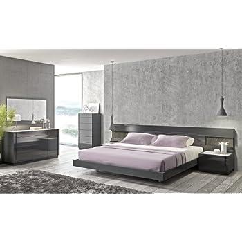 ashley juararo king bedroom set furniture modern grey lacquer size whitewash california canada