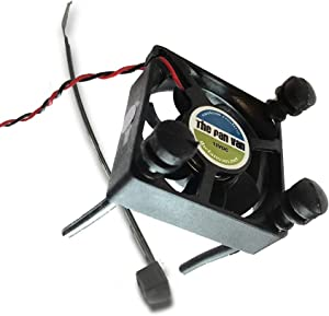 Fan Van Tivo Roamio & Roamio OTA Replacement Fan KIT Includes Vibration Dampening Silicon Mounts