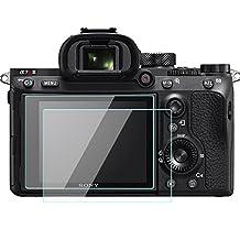 Sony Alpha a7R III A7R3 Camera Tiltable LCD Screen Protector Tempered Glass for Sony Alpha A7R Mark III 2 Pack