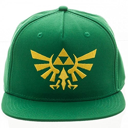 Green Legend Zelda Triforce Snapback