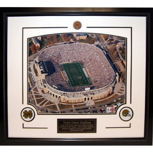 Notre Dame Stadium Framed 16x20 Photograph by Biggsports
