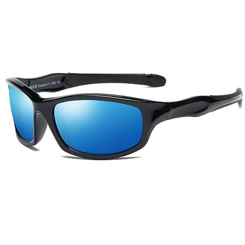 Amazon.com: DUCO K006 - Gafas de sol polarizadas para niños ...