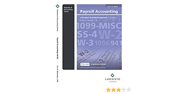 Payroll accounting cpa eric a weinstein 9781591368045 amazon payroll accounting cpa eric a weinstein 9781591368045 amazon books fandeluxe Gallery
