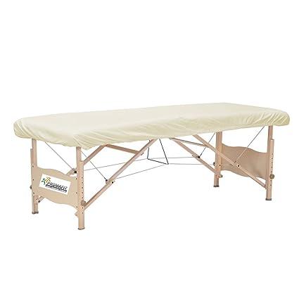 Promafit - Cobertor de camilla de masaje, color blanco