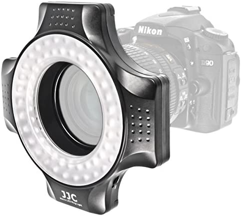 Impulsfoto Makrolicht Ringleuchte Mit 48 Leds Fuer Kamera