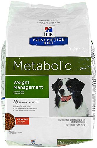 Hill's Prescription Diet Metabolic Canine Dry Dog Food, 27.5-lb bag by Hill's Pet Nutrition