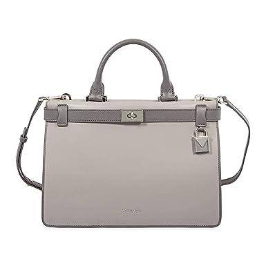 2f4995a89f81 Women s Accessories Michael Kors Grey Tatiana Medium Satchel Bag Fall  Winter 2019