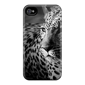 Durable Protector Cases Covers With Dark Widescreen Tiger Hot Design For Iphone 6