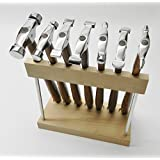 7 MINI TRUSTRIKE HAMMERS WITH STAND DESIGNING JEWELRY METALSMITH FORMING SHAPING (LZ 2 M BOX)BY NOVEL TOOLS