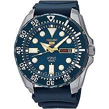 Seiko Men's Diver Automatic SRP605K2 Blue Rubber Automatic Watch
