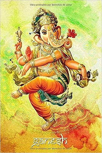 GANESH: Libreta de Ganesh ideal para amantes y devotos de ...