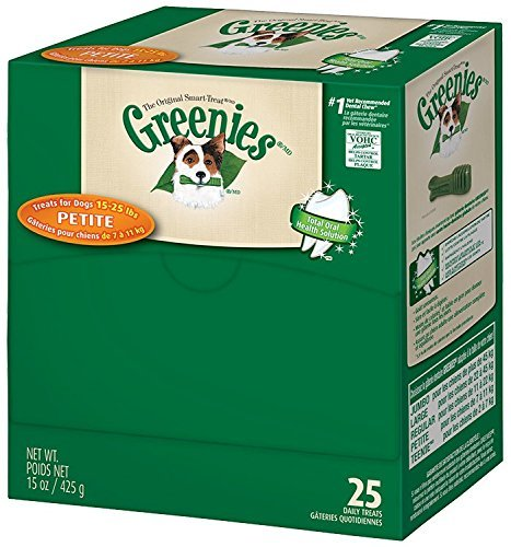 Greenies 428657 25 Count Greenies Mini-Me Merchandisers Treats For Pets