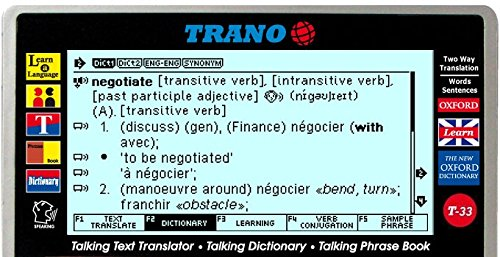 T-33 French English Electronic Dictionary Talking Text - Import It All