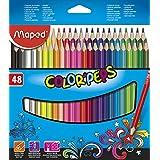 Lápis de Cor Color Peps Caixa x 48, Maped 07, Multicor