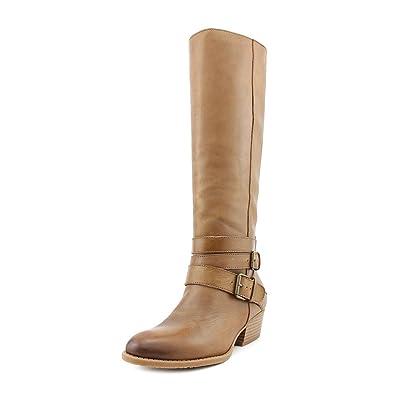Kenneth Cole Womens Raw Deal Leather Almond Toe Knee High Fashion bce46657e0